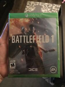 Unopened Battlefield 1 for Xbox One