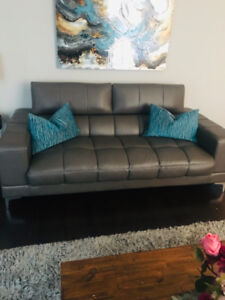Sofa and love seat in great condition for sale