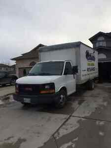 2004 GMC Savana 3500 16ft Cube Van