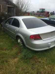 2001 Chrysler Sebring for parts or sell whole