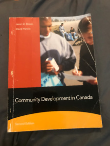 Community Development in Canada Textbook