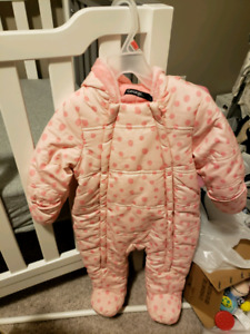 Baby snow suit jacket 6-9 months