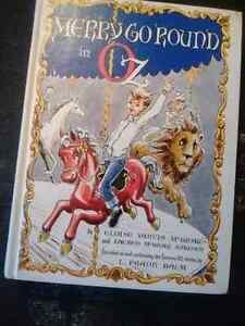 Merry Go Round in Oz  Rare Book First Edition Kingston Kingston Area image 1