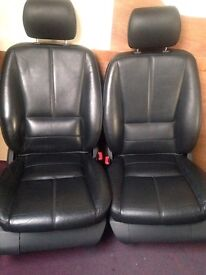 Mercedes ML W163 Front Seats