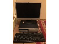 HP Compaq DC7700 Desktop PC Computer - Good Woking Order