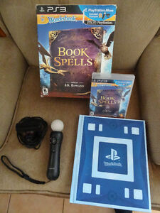 PS Move + book of spells