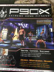 PX 90 Tony Hortons Extreme Home Fitness Workout DVD Set