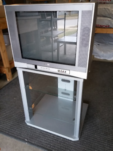 20 inch LCD Toshiba TV and matching stand for sale