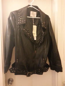 """""""Solitare"""" Plether Motorcycle Jacket"""