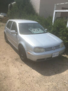 VW golf for parts
