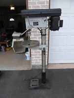 """Rexon 16 1/2, 12 speed, 3/4"""" floor model drill press"""