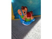 Leap frog rocking horse toy