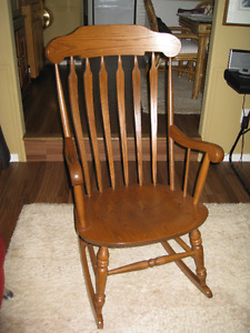 Rocking Chair Solid Oak