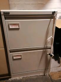 Filing cabinet +key tool box