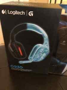 Casque de jeu sans fil - Wireless gaming headset Logitech G930