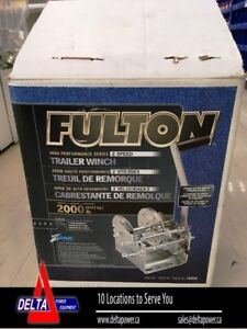 FULTON 2000 POUND TRAILER WINCH - CLEAROUT