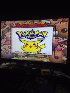 Pokemon Yellow, Green, Blue, Gold and Silver
