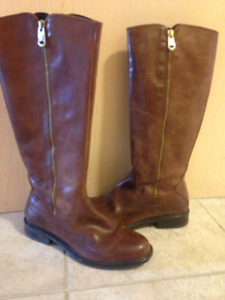 Chestnut/Brown Riding Boots  - 7 1/2