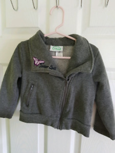 Size 4T Tinkerbell Zip-Up Jacket