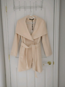 Brand New Wrap Wool Coat - Size S / Small