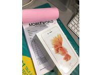 IPhone 6s 128gb brandnew sealed pack 12 month apple waranty
