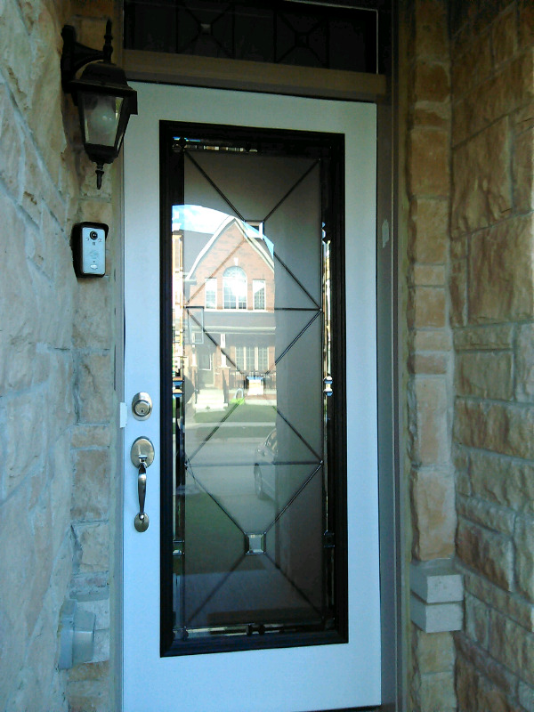 Upgrade to wrought iron or decorative glass door inserts windows listing item planetlyrics Gallery