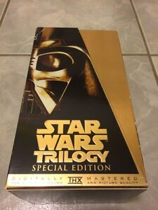 Star Wars Trilogy Special Edition VHS Tapes Set
