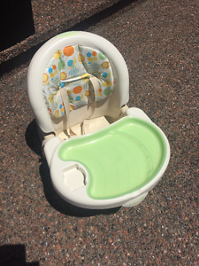 Strap on High Chair - Excellent condition