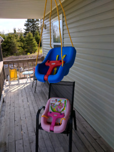 Little tikes swings