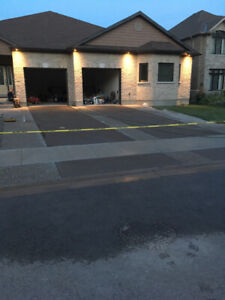 Concrete driveways-walkways patios