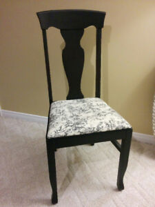 Accent Chair Refinished Vintage