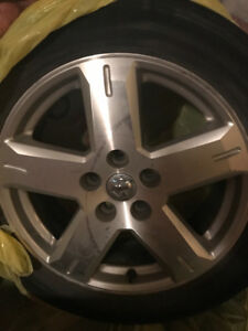 I have 4 factory rims for Dodge Journey, with tires