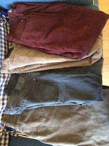 2 lots of men's xl fitting jeans/pants.