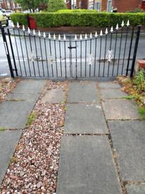 REDUCED Iron gates