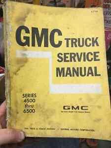 1970 GMC 4500-6500 Truck Service Manual