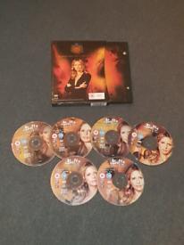 SIGNED Buffy Season 5 DVD boxset (by Clare Kamer/Glory)