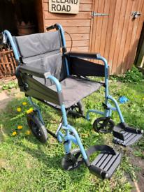 Wheelchair lightweight folding like new £40