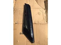 MINI F56 BLACK A POST TRIM O/S