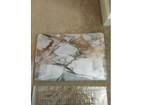 Brand new in packet marble MacBook case