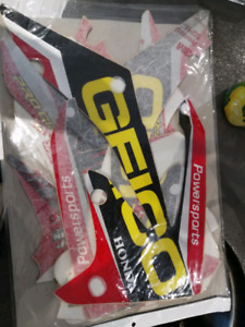 Honda CRF 250/450 Geico graphics kit