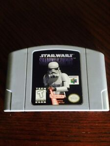 Star Wars Shadow Of The Empire For N64 + NASCAR 99
