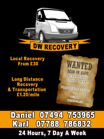 North East Recovery Service & Scrap Cars Wanted