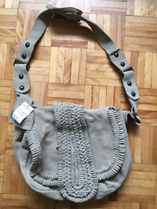 Tan suede bag - need gone ASAP!