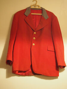 Vintage Montreal Hunt Club Foxhunting Jacket Tailcoat
