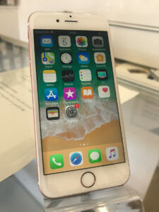 iphone 6S rose **unlock ** 128g**