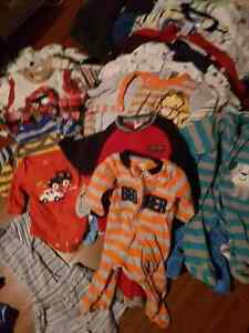 BABY BOY CLOTHES! OVER 200 PCS 0-3 months