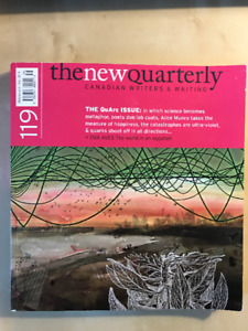 The New Quarterly/Arc Poetry Magazine double edition - Used