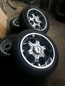 Mags and tires 20 inch