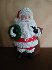 SANTA CLAUS Figurine (1979): Gift Sack Empty for Candies, Nuts