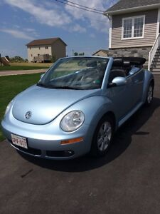 2007 VW Beetle Convertible- LOW mileage